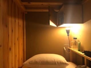 Tokyo'da kaldığım hostel