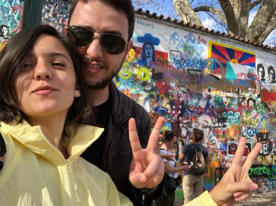 Prag Gezilecek Yerler Lennon Duvarı